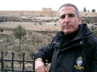 Fr. Avelino in the Holy Land