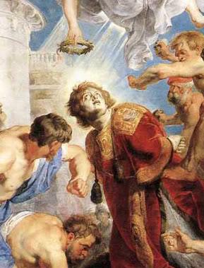 St. Stephen Stoning -Rubens