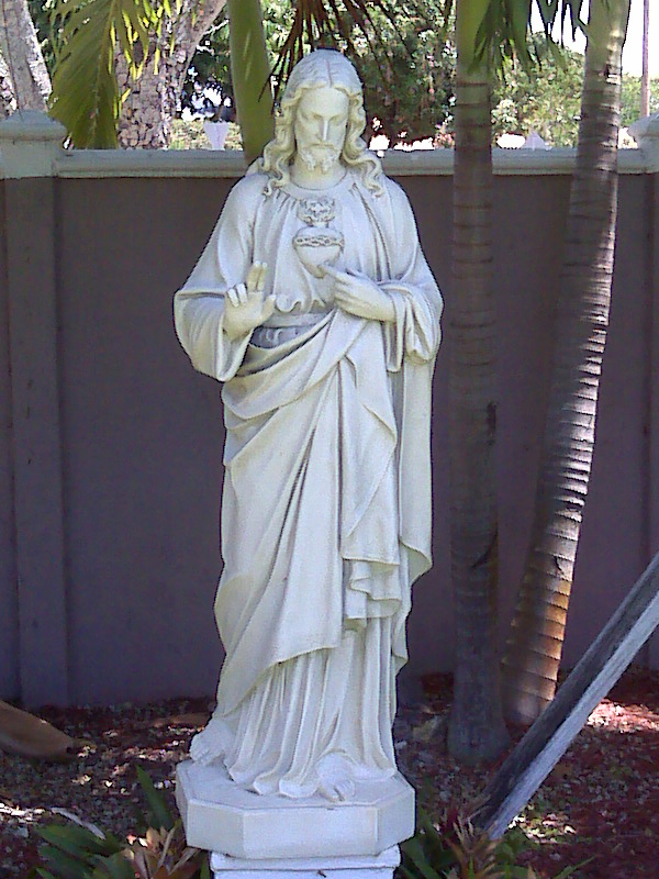 Statue of The Sacred Heart of Jesus