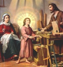 Holy Family at Work