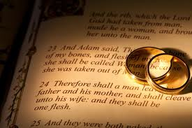 Wedding Ring on Bible