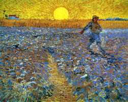 Wheat Fields by Vincent Van Gogh