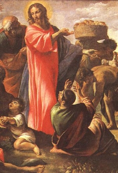 Giovanni Lanfranco - Miracle_of_the Bread and Fish cropped