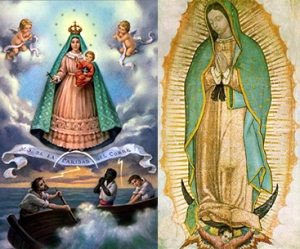 Our Lady of Charity & Our Lady of Guadalupe