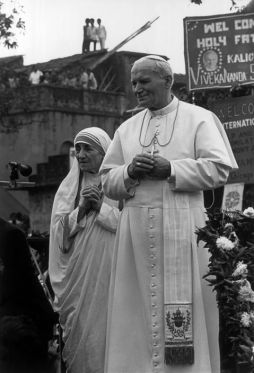 St. John Paul II & Bl. Mother Teresa