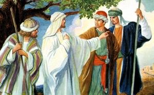 Jesus, James, and John