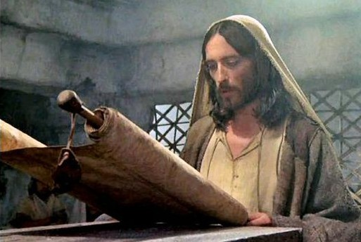 Jesus Reading the Torah